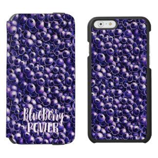 Blueberry power Fresh berry illustration Incipio Watson™ iPhone 6 Wallet Case