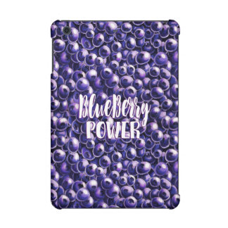 Blueberry power Fresh berry illustration iPad Mini Cover