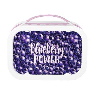 Blueberry power Fresh berry illustration Lunch Box
