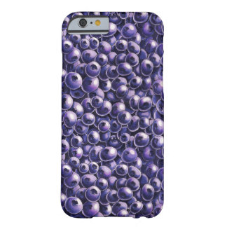 Blueberry power Fresh berry  illustrations Barely There iPhone 6 Case