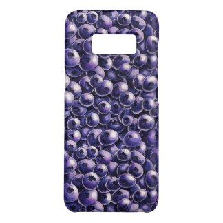 Blueberry power Fresh berry  illustrations Case-Mate Samsung Galaxy S8 Case