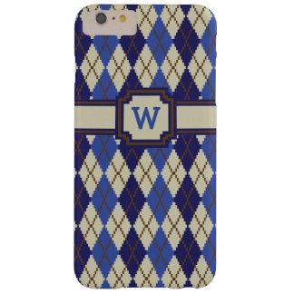 Blueberry Scone Argyle iPhone Case-Mate Case