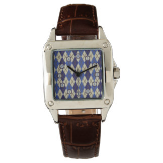Blueberry Scone Argyle Watch