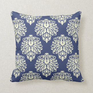 Blueberry Southern Cottage Damask Cushion