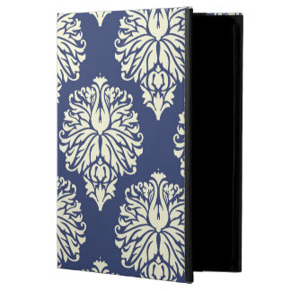 Blueberry Southern Cottage Damask iPad Air Case