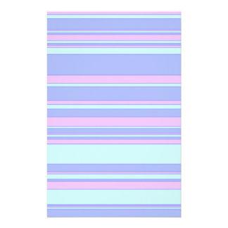 Blueberry Stripe Stationery