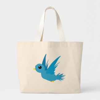 Bluebird #2 large tote bag