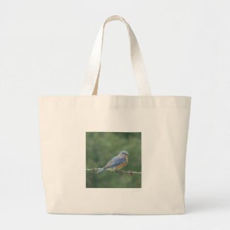 Bluebird Tote Bags