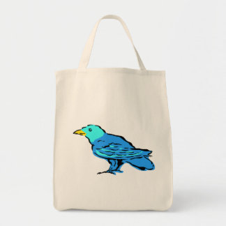 Bluebird Tote Bags