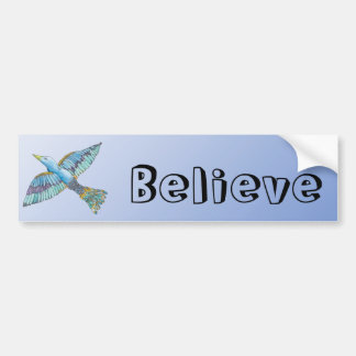 Bluebird Believe Bumper Stickers