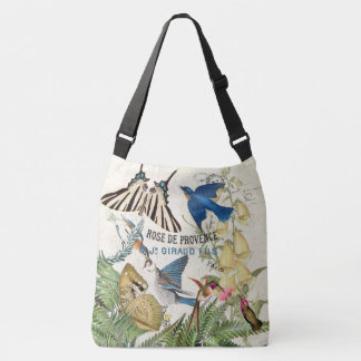 Bluebird Bird Butterfly Hummingbird Moth Tote Bag