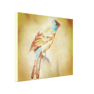 Bluebird by LH Canvas Print