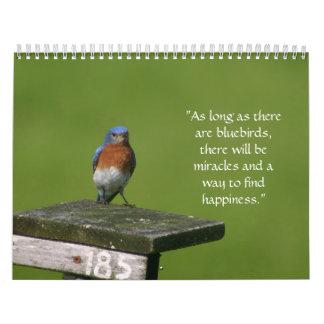 bluebird calendar