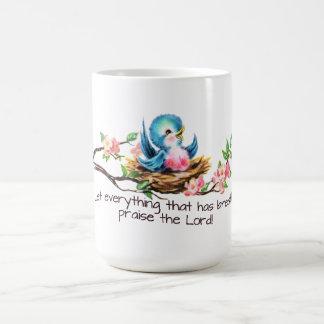 Bluebird Classic White Mug