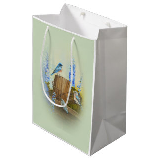Bluebird Family Medium Gift Bag