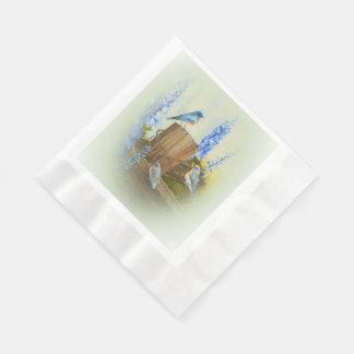 Bluebird Family Paper Serviettes