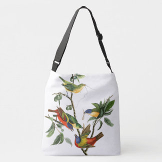 Bluebird & Finches Birds Audubon Tote Bag
