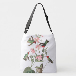 Bluebird & Hummingbird Birds Audubon Tote Bag