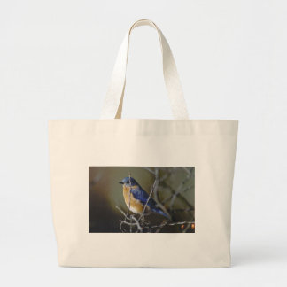 bluebird jumbo tote bag