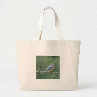 Bluebird Jumbo Tote Bag