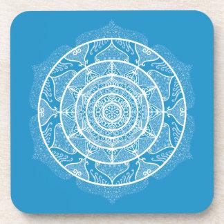 Bluebird Mandala Coaster