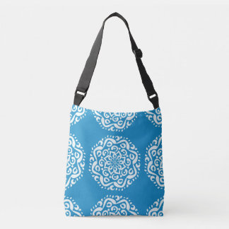Bluebird Mandala Crossbody Bag