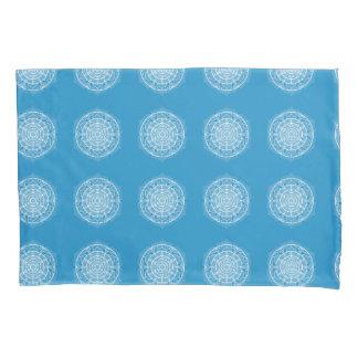 Bluebird Mandala Pillowcase