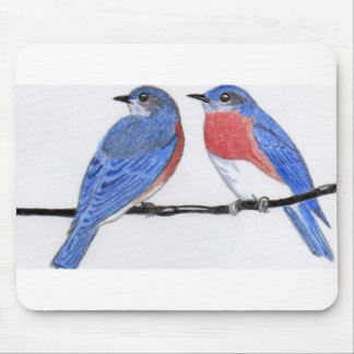 Bluebird Mouse Pad