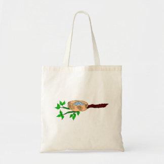 Bluebird Nest Canvas Bag
