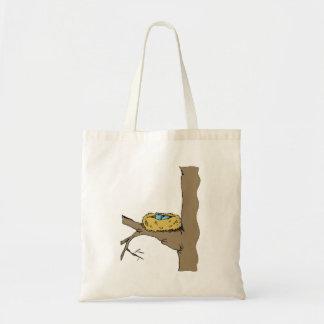 Bluebird Nest Canvas Bags