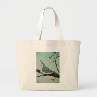 Bluebird of Happiness Canvas Bags