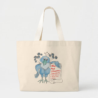 Bluebird of Happiness by BestPeople Tote Bags