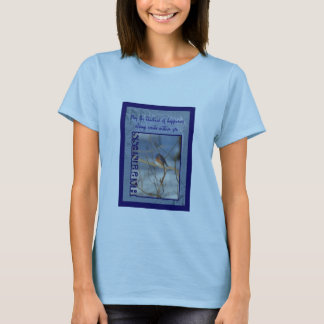 Bluebird Of Happiness Inspirational Shirt
