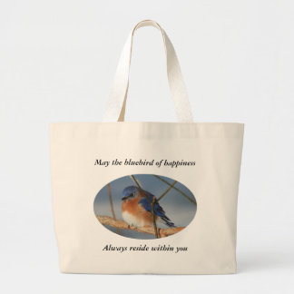 Bluebird Of Happiness Nature Tote Bag
