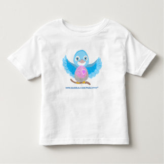 Bluebird of Happiness Toddler T-Shirt