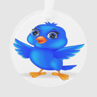 Bluebird of Happiness Year Round Decor Ornament