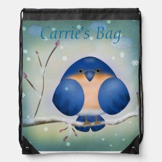 Bluebird of Winter Rucksack
