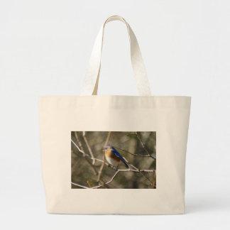 Bluebird Ornithology Canvas Bag