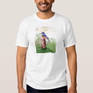 Bluebird Song Mens Tshirt