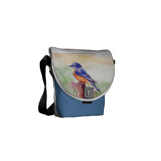 Bluebird Song Mini Messenger Bag