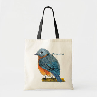 Bluebird to Take with You Canvas Bags