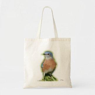 Bluebird  Tote Budget Tote Bag