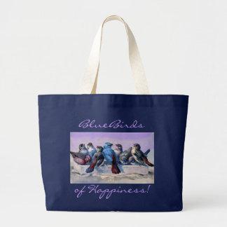 BlueBirds Canvas Bag
