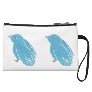 Bluebirds Clutch Bag Wristlet Clutches