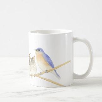 Bluebirds in Watercolor Mug