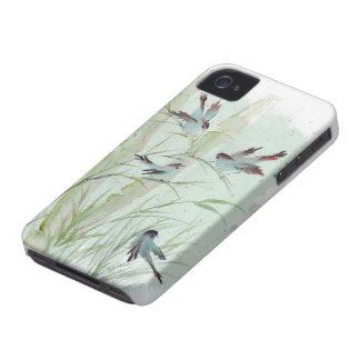 Bluebirds iphone 4 case