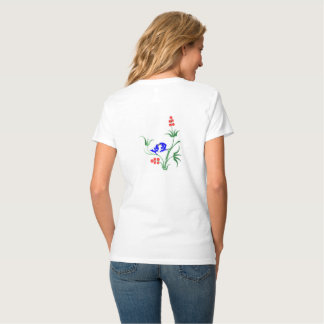 Bluebirds preening T-Shirt