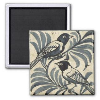 Bluebirds (w/c on paper) magnet