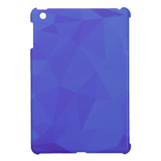 Bluebonnet Abstract Low Polygon Background iPad Mini Cover