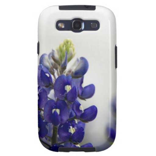 bluebonnet blue galaxy s3 cover
